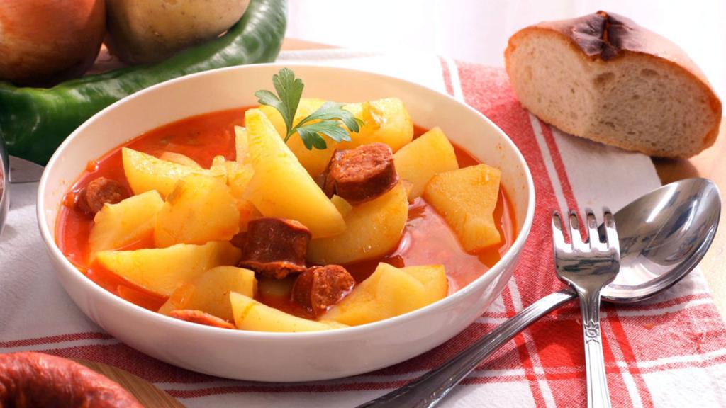 Las cucharas de Faustino, Patatas a la Riojana