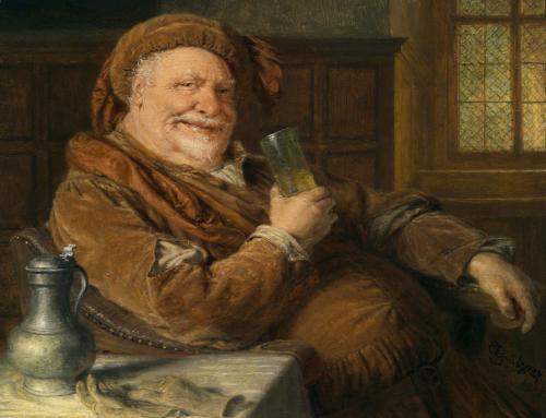 Personajes literarios y el vino