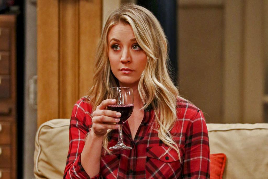 Actrices se dan al vino, Kaley Cuoco