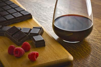 Chocolate y vino