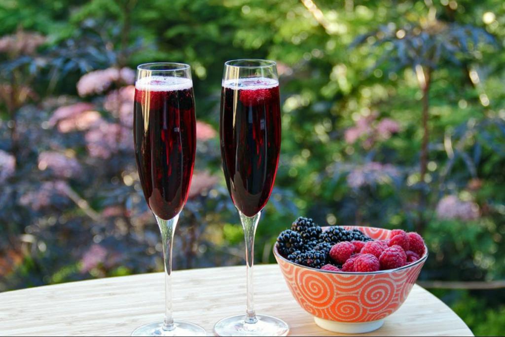 Cocteles con vino