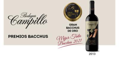Campillo 57, ganador de los Premios Bacchus 2021
