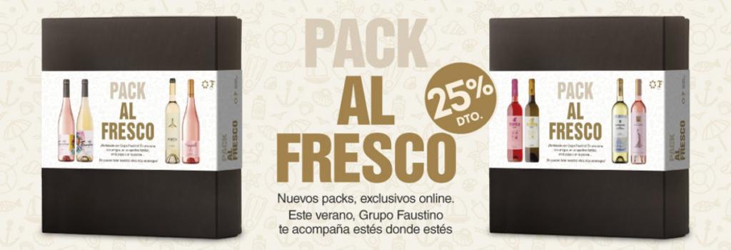 Vinos imprescindibles en verano, Pack Al Fresco Descubrimiento, Grupo Faustino
