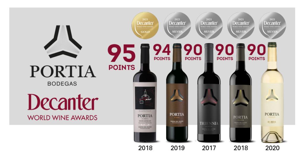 Premios Decanter, Bodegas Portia