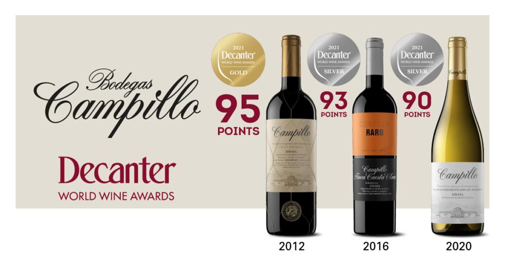 Premios Decanter, Bodegas Campillo