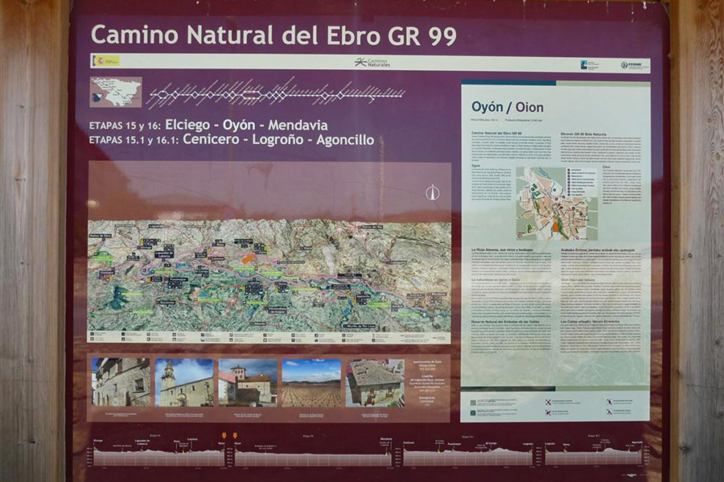 Faustino sabe de senderos, GR-99, Etapa15