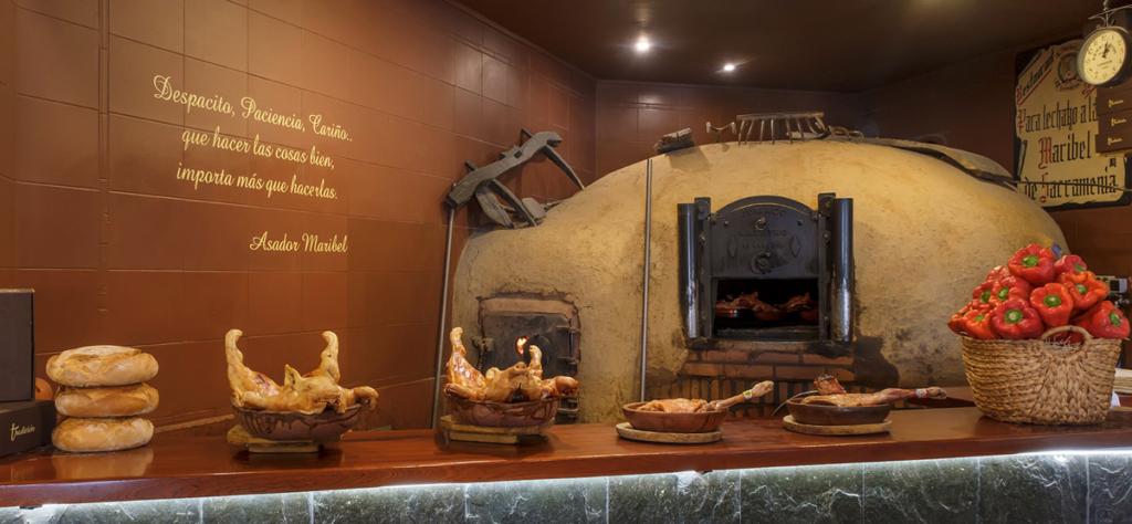 Comer en Segovia, Asador Maribel